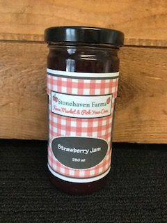 Stonehaven Farms Strawberry Jam