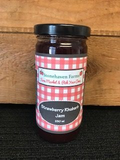 Stonehaven Farms Strawberry Rhubarb Jam